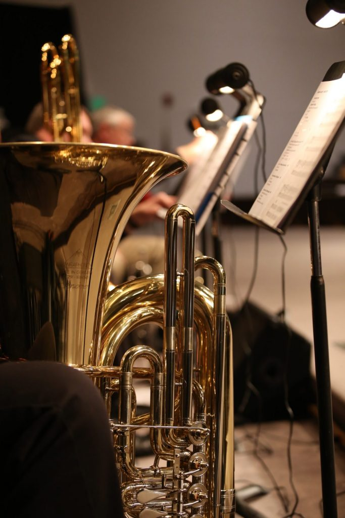 what is register in music tuba